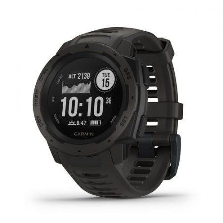 Garmin Instinct Graphite GPS-es sport- és okosóra