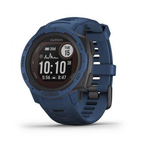 Garmin Instinct Solar Tidal Blue GPS-es sport- és okosóra