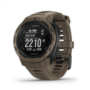 Garmin Instinct Tactical Coyote Tan GPS-es sport- és okosóra