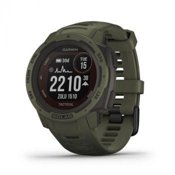 Garmin Instinct Solar Tactical Moss GPS-es sport- és okosóra