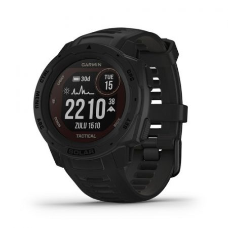 Garmin Instinct Solar Tactical Black GPS-es sport- és okosóra