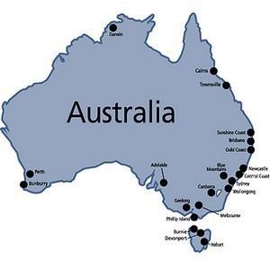 Garmin City Navigator Ausztrália NT microSD/SD kártya