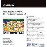 Garmin City Navigator Europe NT 2009 frissítés