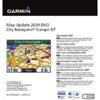 Garmin City Navigator Europe NT 2009 frissítés